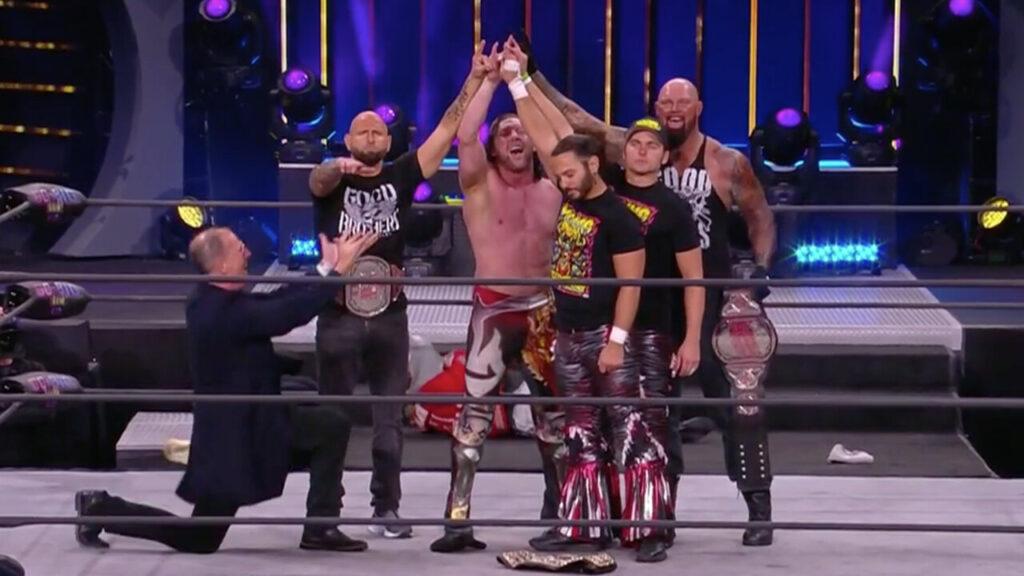 ¿Reunión del Bullet Club en AEW?  Los Young Bucks traicionan a Jon Moxley en Dynamite