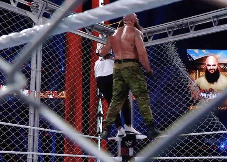 El Universo WWE reacciona a la aterradora conclusión de Shane McMahon vs Braun Strowman en WrestleMania 37