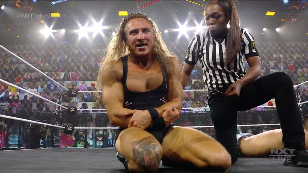 Fans asombrados por la obra maestra técnica entre Pete Dunne y Kushida en NXT TakeOver: Stand and Deliver