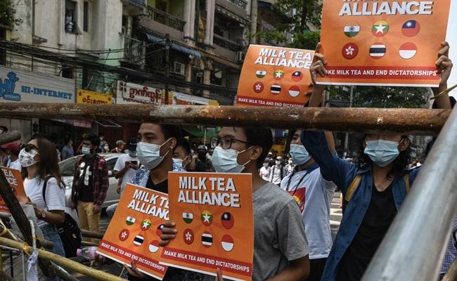 Twitter destaca los movimientos por la democracia en Asia con el emoji #MilkTeaAlliance