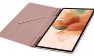 Los nuevos renders filtrados muestran el Samsung Galaxy Tab S7 Lite 5G en color rosa