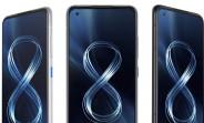Asus Zenfone 8 y Zenfone 8 voltea especificaciones y renderiza fugas